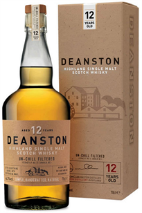 Deanston Scotch Single Malt 12 Year 750ml